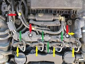 Comment Reparer Un Debimetre D Air : traces d 39 huile autour d 39 un injecteur maladie des moteurs hdi peugeot citro n les joints d ~ Gottalentnigeria.com Avis de Voitures
