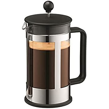 Free delivery on your first order of items shipped by amazon kichly french press, 100% stainless steel double walled insulated coffee press with fine filters, espresso & tea maker 32 oz 4.7 out of 5 stars529 $24.99$24.99 Amazon.com: Bodum New Kenya 34-Ounce Coffee Press, Black: French Presses: Kitchen & Dining