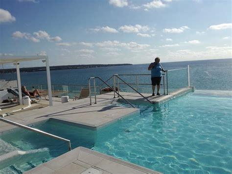 Pool Auf Dem Dach by Der Pool Auf Dem Dach Bild Iberostar Bahia De Palma
