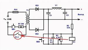 Overload Protection Circuit Of Power Supply