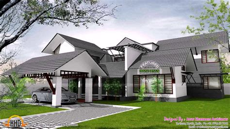 kerala style home plans  interior courtyard  description youtube