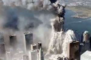 Twin Towers during Attack
