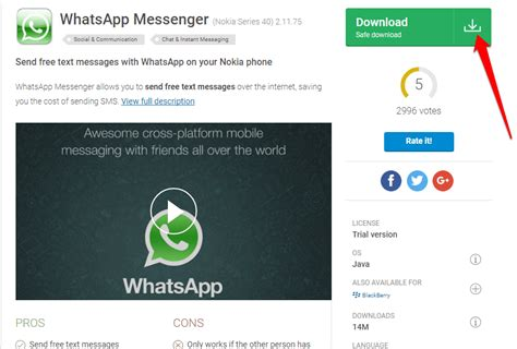 how to whatsapp for java phones