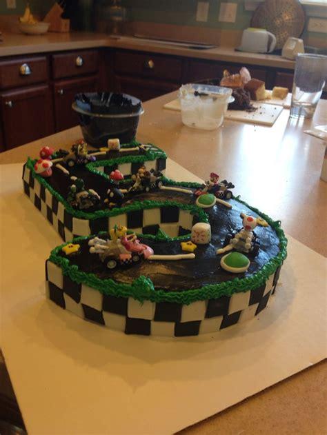 mario kart cake ideas  pinterest super mario