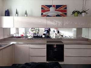 credence miroir sur mesure pour votre cuisine With photo de credence pour cuisine