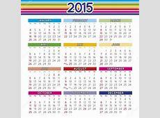 2015 제곱 영어 달력 — 스톡 벡터 © alfonsodetomas #52332829