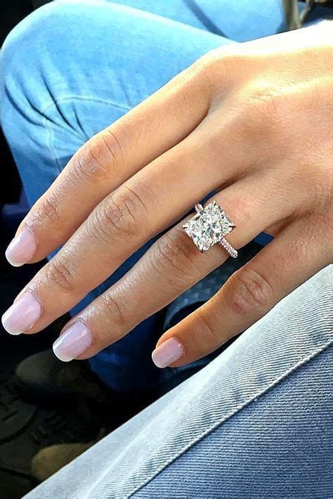 best 25 emerald cut engagement rings ideas on pinterest