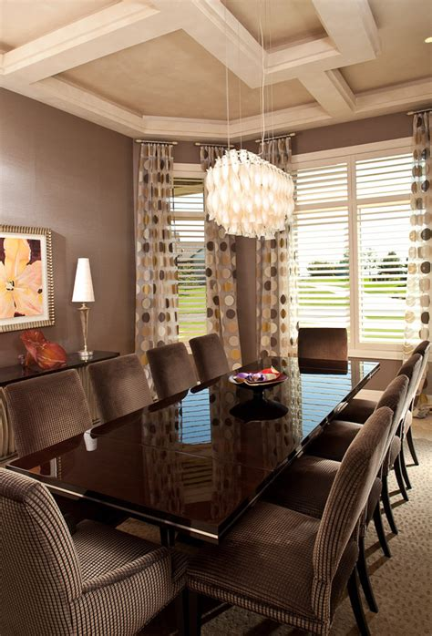 great room curtain ideas dining room contemporary with