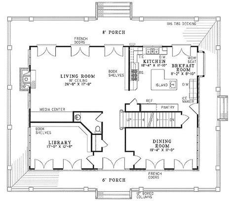 floor plans with wrap around porch unique 2 bedroom house plans wrap around porch home