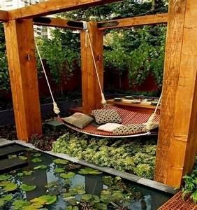 Holzbrunnen Für Garten : designs jolis et spectaculaires de jardin aquatique ~ Orissabook.com Haus und Dekorationen