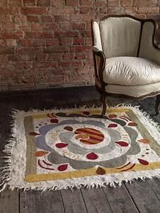Gudrun Sjöden Teppich : herbst winter 2013 der wundersch ne krumelur teppich ist aus gefilzter baumwolle wolle ~ Orissabook.com Haus und Dekorationen