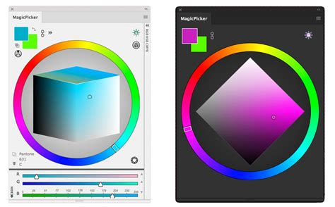color wheel photoshop how to change the color sliders to a color wheel like