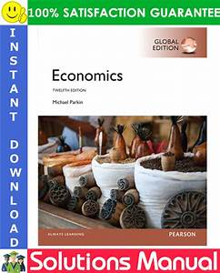 Economics  Global Edition  12  E Solutions Manual By