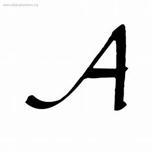 Gourdie Cursive A-Z Calligraphy Lettering Styles To Print ...