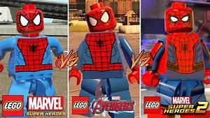 Evolution of Spider-Man in LEGO Marvel Games! (Super ...