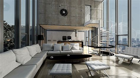 45 Contemporary Living Rooms with Sectional Sofas (Pictures)