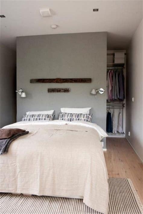comment agencer sa chambre 10x begehbarer kleiderschrank hinter dem bett wohnideen