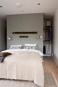 Begehbarer Kleiderschrank Mit Bett : 10x begehbarer kleiderschrank hinter dem bett wohnideen einrichten ~ Bigdaddyawards.com Haus und Dekorationen