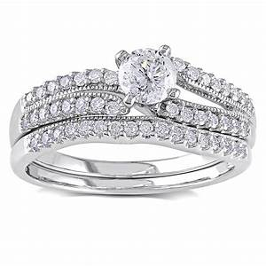 bridal sets diamond bridal sets for women With ladies diamond wedding ring sets