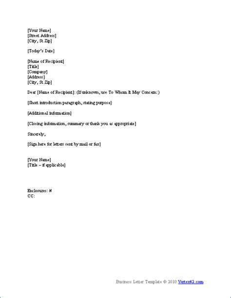 proper business letter format real estate forms