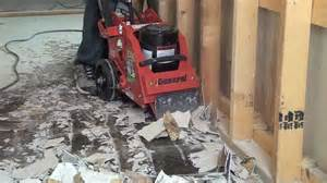 Electric Floor Scraper Machine by Fcs16 Rip R Stripper Demo Video Removing Vct Youtube