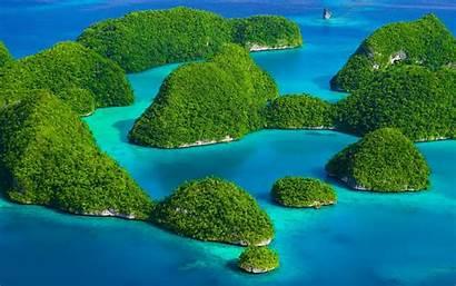 Tropical Exotic Island Nature Landscape Indonesia Sea