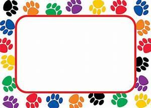 Dog Print Border - ClipArt Best