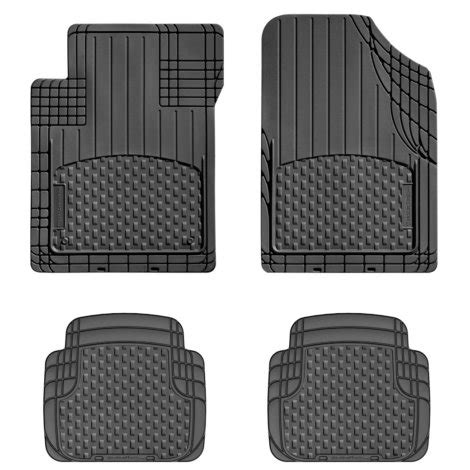 weathertech floor mats universal weathertech amv semi universal floor mat 4 pc black by weathertech at mills fleet farm