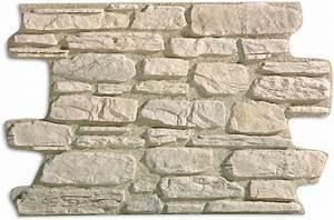 Pierre De Parement Exterieur : parement aspect pierres naturelles blanches panespol ~ Premium-room.com Idées de Décoration