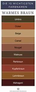 Farben Mischen Braun : warme braunt ne sind umbra ocker beige camel nougat walnuss rehbraun kupferbraun ~ Eleganceandgraceweddings.com Haus und Dekorationen