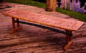 File:Curly maple bench jpg - Wikimedia Commons