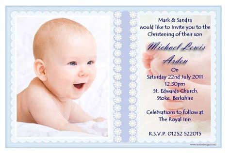 Invitation Card For Christening : Invitation Card For