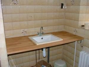 Plan De Travail Salle De Bain : la salle de bain l 39 histoire de la grande maison ~ Premium-room.com Idées de Décoration