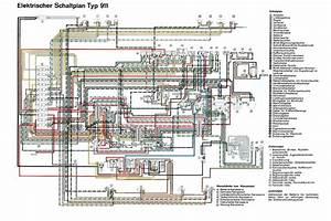 Electrisch Schema 911 T  M  U0026 39 68  D  - Elektrische Installatie - Techniek