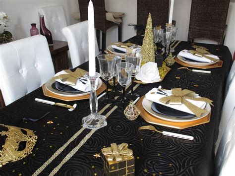 deco et noir decoration noir et or