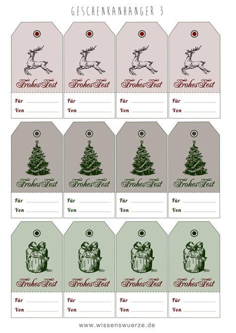 geschenkanhänger weihnachten ausdrucken geschenkanh 228 nger etiketten lables printables gift tags und tag