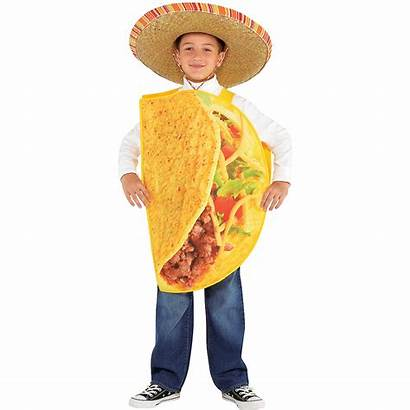 Taco Costume Child Party Partycity
