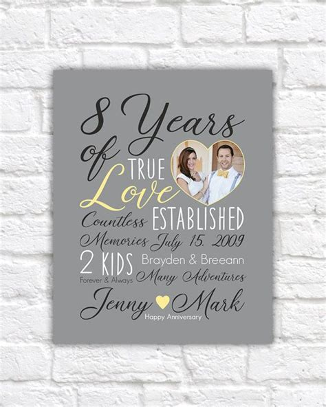 8 year anniversary gift 17 best 8th anniversary gift ideas images on pinterest 8th anniversary anniversary gifts and