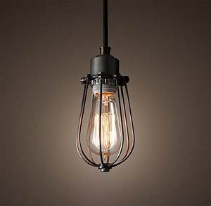Lampe Vintage Look : purelume retro vintage k fig lampe pendelleuchte antik schwarz inkl 40w edison gl hbirne online ~ Sanjose-hotels-ca.com Haus und Dekorationen