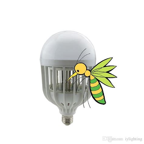 2 in 1 mosquito led light bulb mosquito repellent bug