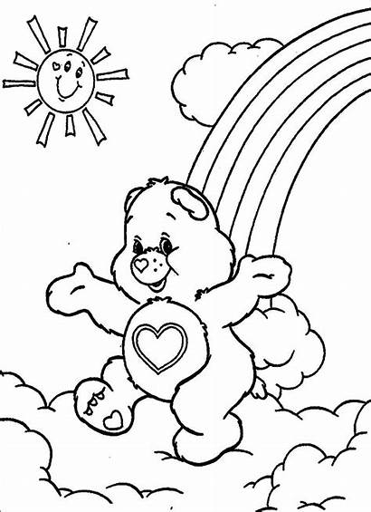 Coloring Pages Care Bear Bears Printable