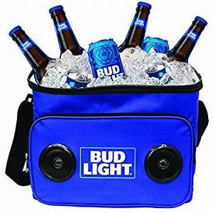 Bud Light Cooler With Speakers Amazon Com Budlight Bluetooth Bottle Speaker Authentic