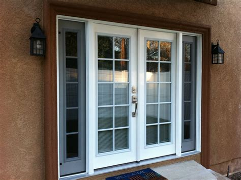 Exterior Door With Window by Thb Construction Back Door Replaced With