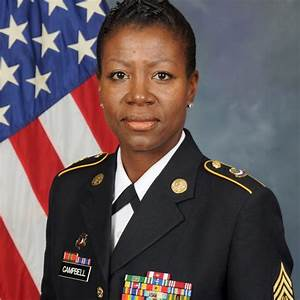 United States Marine Corps Reserve Command Sergeant Major R Campbell Gt U S Army