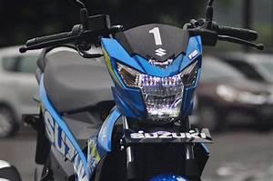 Tampilan Headlamp Suzuki Satria Fu Fi Tahun 2016