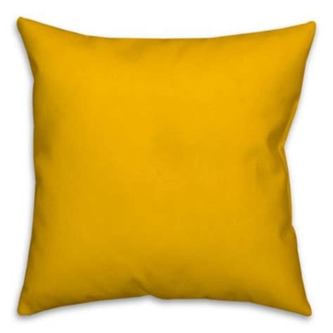 yellow throw pillow buy yellow decorative pillows from bed bath beyond