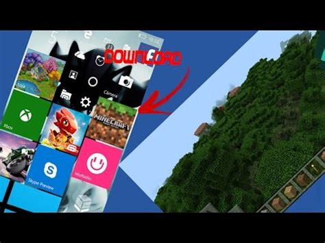 minecraft modificado para windows 10 mobile interfa