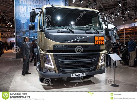 volvo commercial vehicles volvo fm truck editorial stock image image 45108884
