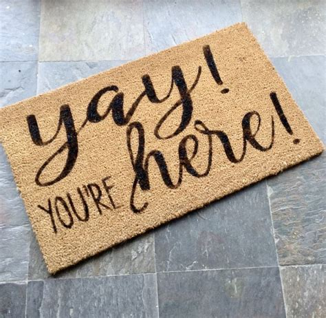 Welcome Mat by Best 25 Welcome Mats Ideas On Doormats