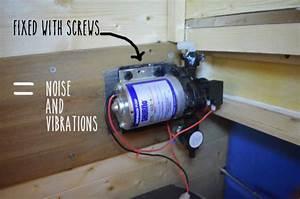 Installing The Shurflo Water Pump